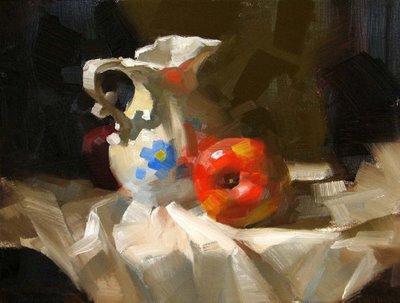 """""""Hide and Seek 2"""" original fine art by Qiang Huang"""