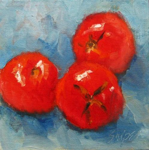 """For the Salad"" original fine art by Connie Snipes"