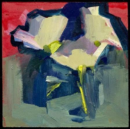 """2083 I am not a penguin"" original fine art by Lisa Daria"