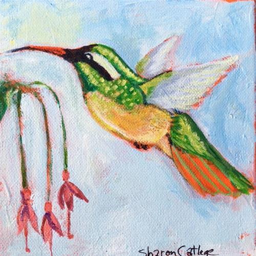 """Sweet Nectar"" original fine art by Sharon Catlege"