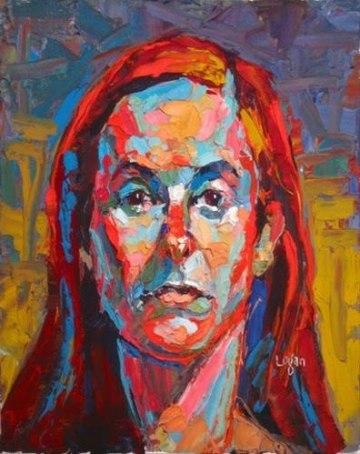 """Leah"" original fine art by Raymond Logan"
