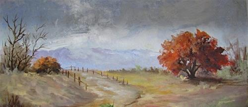 """South Texas Desert"" original fine art by Barbara Haviland"