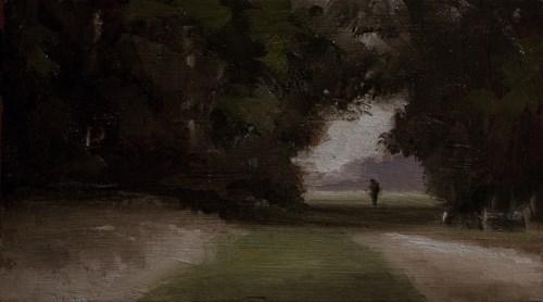 """Last Walk Before Autumn"" original fine art by Neil Carroll"