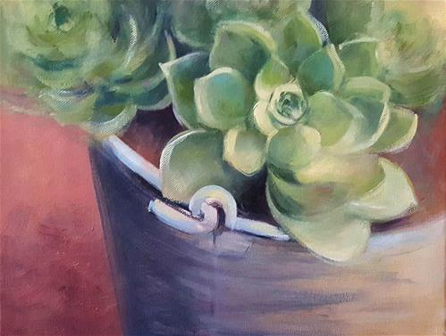"""DESERT ROSE"" original fine art by Ronel Alberts"