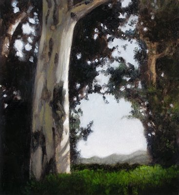 """Eucalyptus 5.5x6"" original fine art by M Collier"
