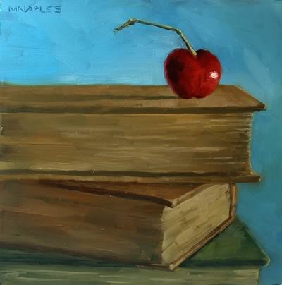"""Cherry On Top"" original fine art by Michael Naples"