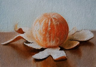 """Clementine 3"" original fine art by Jonathan Aller"