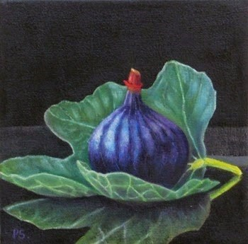 """Figs III - 1001 Nights"" original fine art by Pera Schillings"