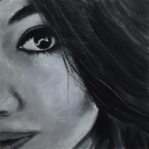 """Lindsay"" original fine art by Melissa Gresham"