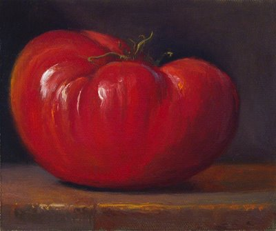 """Heirloom Tomato No. 5"" original fine art by Abbey Ryan"