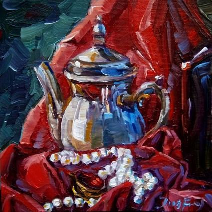 """""""brosche"""" original fine art by Jurij Frey"""