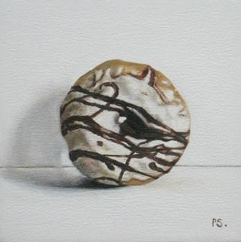 """""""Doughnut"""" original fine art by Pera Schillings"""