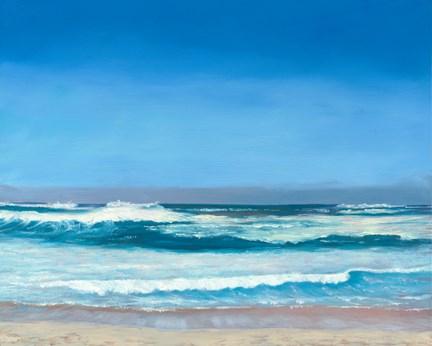 """Blue Hawaii"" original fine art by Elaine Farmer"