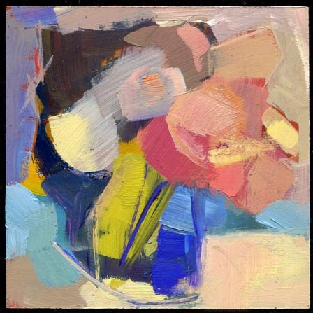 """2126 snow row"" original fine art by Lisa Daria"