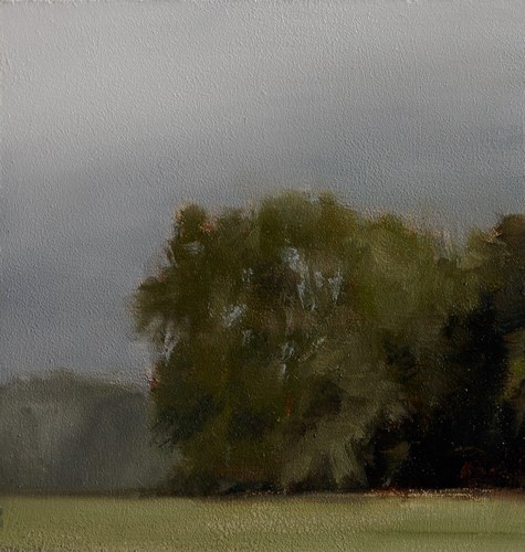 """Copse No.2"" original fine art by Neil Carroll"
