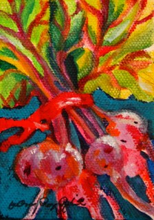 """The Beet Goes On"" original fine art by JoAnne Perez Robinson"
