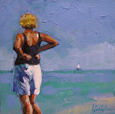 """""""Summer V"""" original fine art by Karin Jurick"""