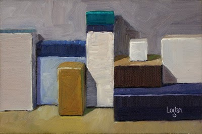 """Still Life Landscape #7"" original fine art by Raymond Logan"