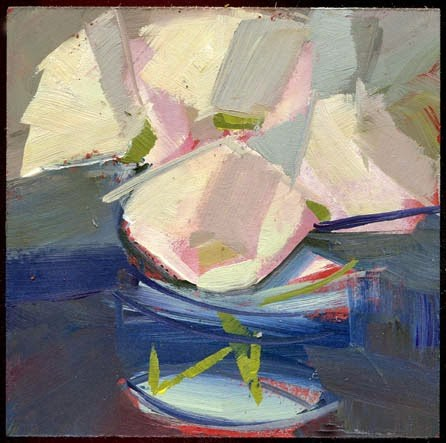 """2170 schooner"" original fine art by Lisa Daria"