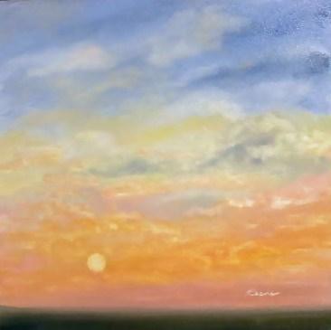 """""""Joie in the Morning"""" original fine art by Carol Keene"""