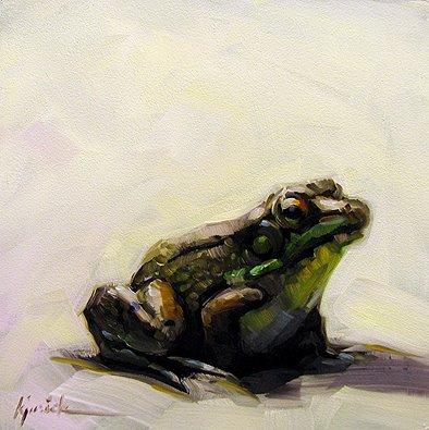 """Fred"" original fine art by Karin Jurick"