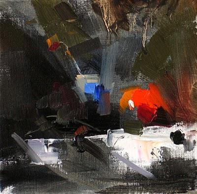 """April Fool --- Sold"" original fine art by Qiang Huang"