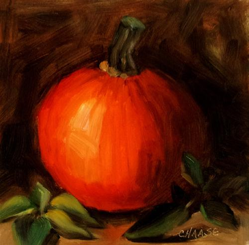"""Punkin Season"" original fine art by Cindy Haase"