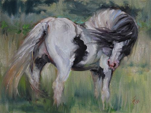 """Vanner"" original fine art by H.F. Wallen"