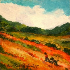 """Day Hike"" original fine art by JoAnne Perez Robinson"
