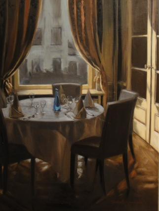 """Almost Set"" original fine art by Jonelle Summerfield"