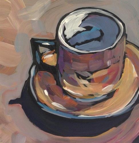 """Doll's Teacup"" original fine art by Kat Corrigan"