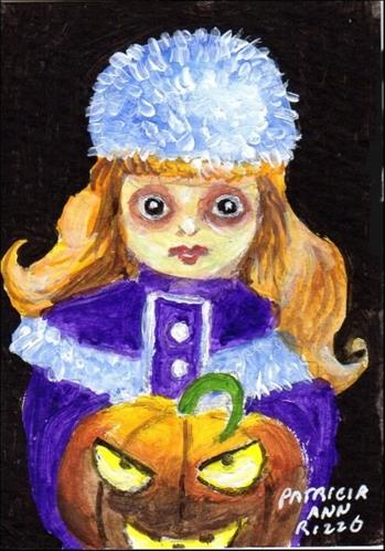 """Haunted Child"" original fine art by Patricia Ann Rizzo"