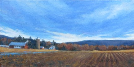 """""""HEADING HOME An Original Oil Painting by Claire Beadon Carnell"""" original fine art by Claire Beadon Carnell"""