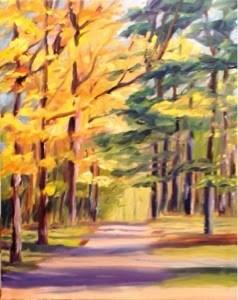 """Living Large"" original fine art by Debra Kennedy"