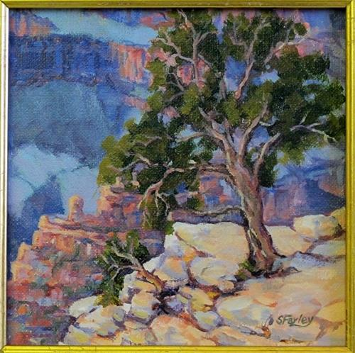 """Grand Canyon Serenity"" original fine art by Sandy Farley"