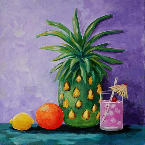 """Tropical Blend"" original fine art by Sunny Williams"