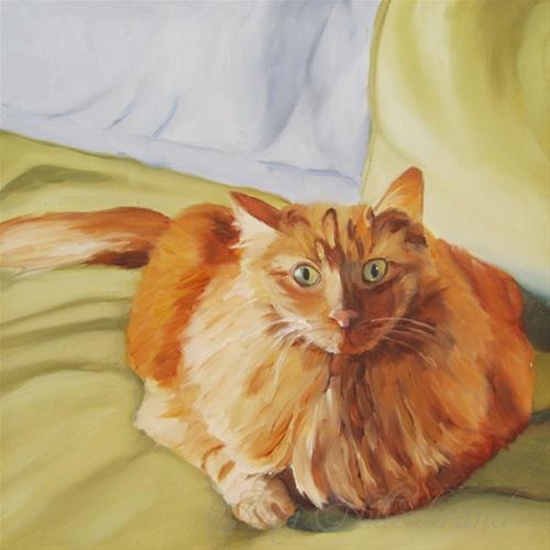 """""""Lufi"""" original fine art by Amy Hillenbrand"""