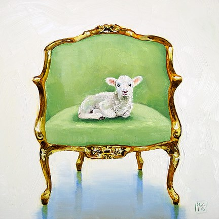 """not guilty"" original fine art by Kimberly Applegate"
