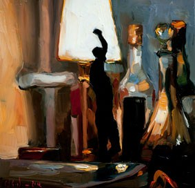 """""""Heizungsrohr"""" original fine art by Edward B. Gordon"""