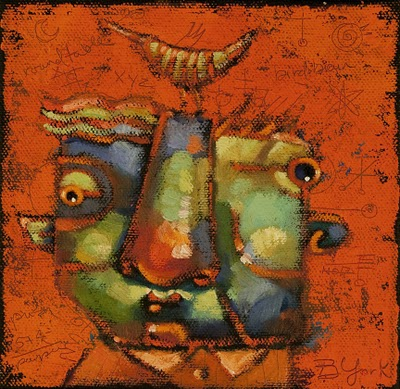"""Tag-A-Long"" original fine art by Brenda York"