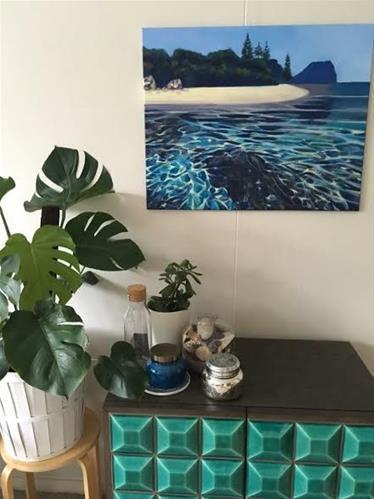 """Lord Howe Island"" original fine art by Caroline Davies"