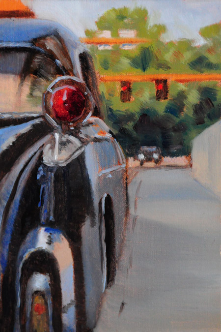 """'Ol '55"" original fine art by Susan Matteson"
