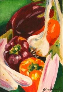 Best of the Farmer's Mkt original fine art by Joanne Perez Robinson