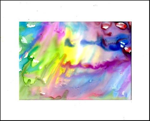 """Deep Inside the Rainbow"" original fine art by Patricia Ann Rizzo"