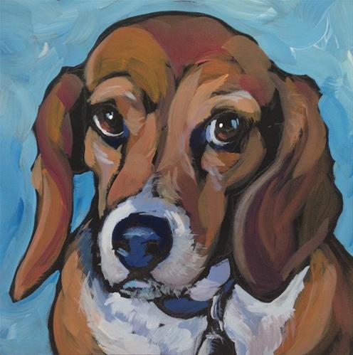 """Mabel"" original fine art by Kat Corrigan"