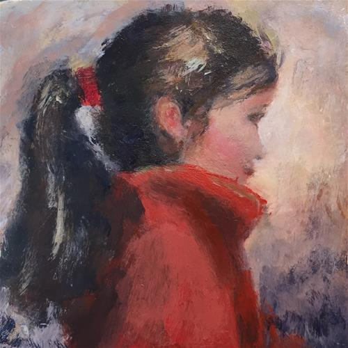 """Isn't She"" original fine art by Melissa Gresham"