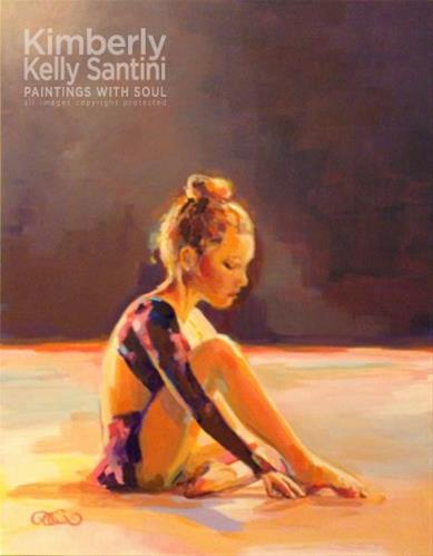 """Kiran's Spotlight, Finished?"" original fine art by Kimberly Santini"