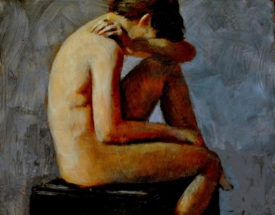 """Without"" original fine art by David Larson Evans"