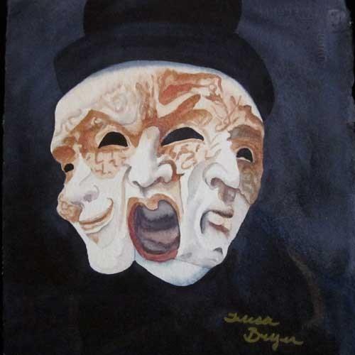 """The Scream"" original fine art by Teresa Beyer"