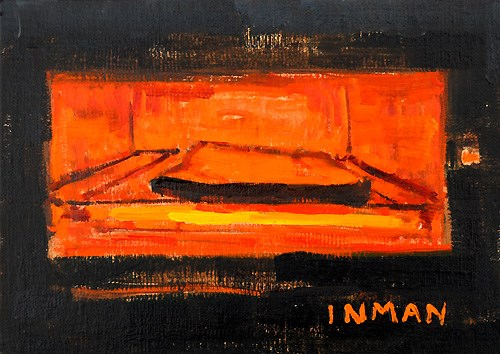 """Night Cheese"" original fine art by Kevin Inman"